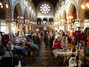 Pop Up Vintage Fairs London @ St Stephens Rosslyn Hill, Hampstead