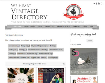 Win an Advert AND a Premium Listing on the Vintage Directory