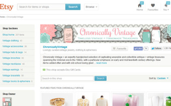 Selling Vintage on Etsy: Tips from Jessica at Chronically Vintage