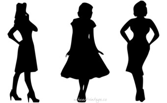 Vintage Silhouettes: 3 Iconic 1950s Dress Styles
